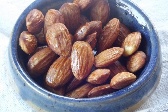 Smoky Almonds recipe