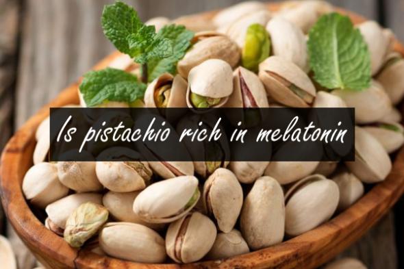 Is pistachio rich in melatonin